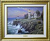 Thomas Kinkade Giclee, Seaside Memories VII