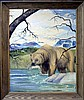 Vintage Oil Painting, Bear by Juan R Parker