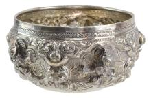 Indian Sterling Silver Bowl