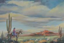 Kay Newgord Southwestern Oil Painting