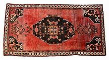 Vintage Persian Wool Rug, 86