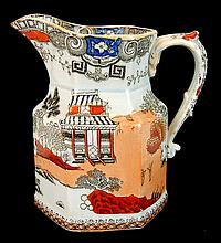 Kinkozan Asian Pottery Pitcher / Ewer