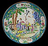 Chinese Hand Painted Enamel Charger