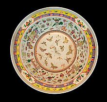 Chinese Hand Painted Porcelain Bowl