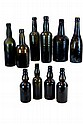 Lot of 10 Assorted Vintage Bottles