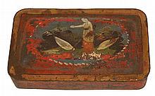 Antique Japanese Tin Snuff Box c. 1850
