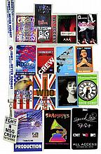 Back Stage/Crew Passes: Elton John, The Who, Etc..