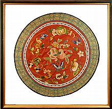 Asian Circular Woven Fabric