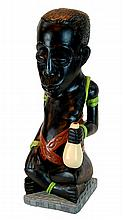 African Pottery Figural Sculpture