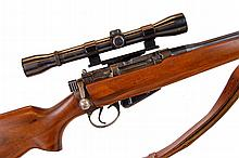 Scoped Enfield Sporter MK 1 .303 Rifle
