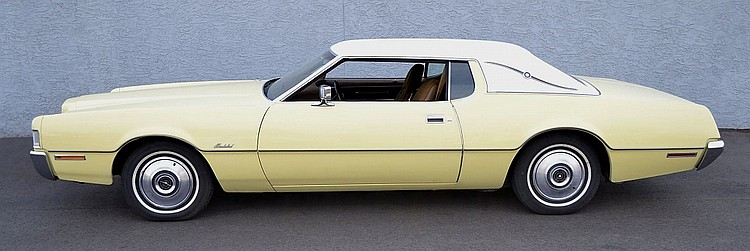 1972 Ford Thunderbird 460 V-8 Cruise-O-Matic
