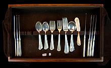 47 Pc. Gorham Sterling Silver Flatware Set