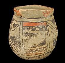 Nazca Peruvian Pre-Columbian Pottery Vessel/Jar