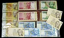 Foreign Currency, Mexico, Brazil, Israel