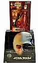 2 Star Wars Collector's Figures. Anakin Skywalker,