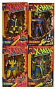 Lot of 4 X-Men Figures, 1993 & 1994