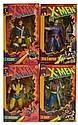 Lot of 4 X-Men Figures, 1993 & 1994