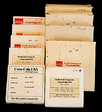 (10) Coca Cola 16mm Commercial Ad Film Reel