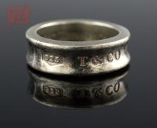 Tiffany & Co. Sterling Silver Band