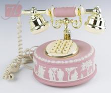 Wedgwood Pink Jasperware Astral Telephone
