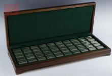 Ltd Ed Franklin Mint Sterling Silver Ship Ingots