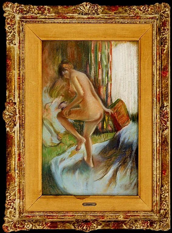 after Edgar Degas  (1834 - 1917) Pastel