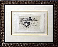 Francis Seymour Haden (1818-1910) Etching
