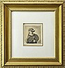 After Rembrandt van Rijn Etching, Portrait in Hat