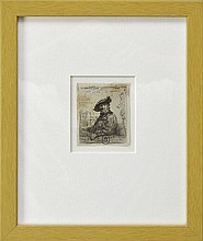After Rembrandt van Rijn Etching,