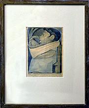 Jean Charlot (1898-1979) Lithograph,