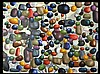 Laynor Oil Painting, Mid-Century, Colored Pebbles