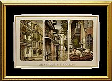 Vieux Carré New Orleans Print, #130/300, Signed