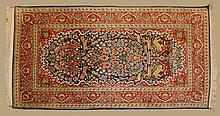 Hand Made Persian Silk on Wool Rug