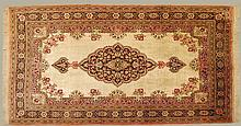 Hand Made Persian Silk on Silk Rug