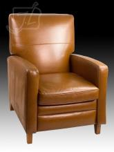 Contemporary 20th C. Leather Chair