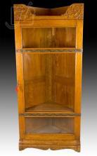 Vintage Arts & Crafts Corner Cabinet