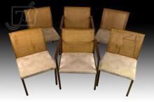 6 Pc. Vintage Lane Company Chair Lot