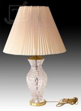 20th C. Waterford Crystal & Brass Lamp
