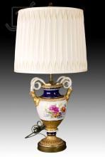 Meissen Style Porcelain Table Lamp