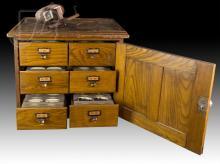 Monarch & Keystone View Company Storage Cabinet