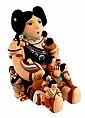 1988 Cleo Teissedre Hopi Pottery Storyteller