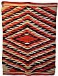 Navajo Rug, Circa 1950's, Diamond Pattern