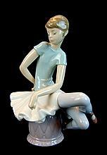 Lladro Porcelain #1361 - Ballet Blue No. 6 Matte