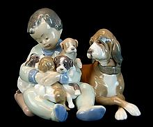 Lladro Porcelain #5456 - New Playmates