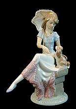 Lladro Porcelain #7612 - Picture Perfect