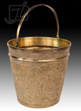 Persian 84 Silver Birds Of Paradise Ice Bucket