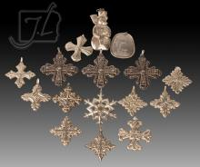 16 Pc. Reed & Barton Sterling Christmas Ornament