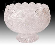 20th C. Waterford Crystal Footed Bowl
