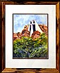 Watercolor Painting: The Chapel of the Holy Cross