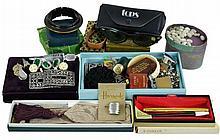 Miscellaneous Costume Jewelry Lot w/ Parker Pens